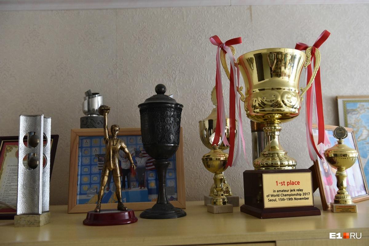 Кубки, завоеванные на разных соревнованиях