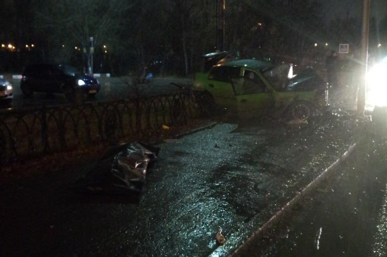 Авария произошла на улице Пермякова