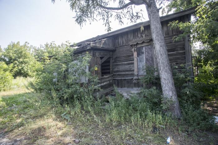 В ближайшее время завалившийся дом отремонтируют, а после откроют там музей
