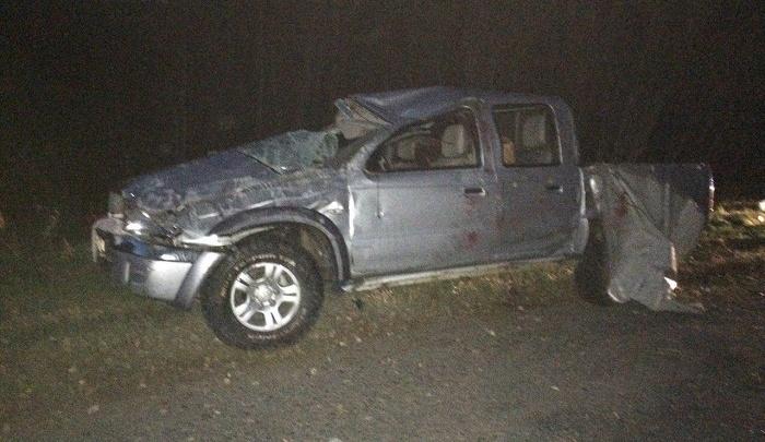 Житель Ростовской области не справился с управлением на курганских дорогах и вылетел в кювет