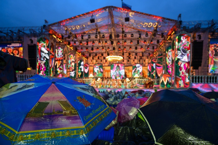 Грандиозный концерт в Екатеринбурге покажут спустя полтора месяца после петербургской премьеры