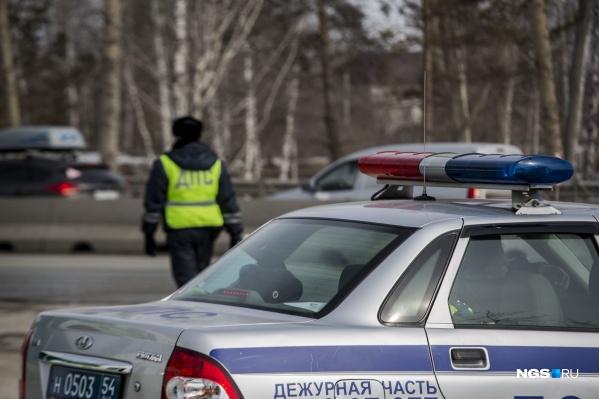 Сотрудники ГИБДД быстро задержали скрывшегося водителя