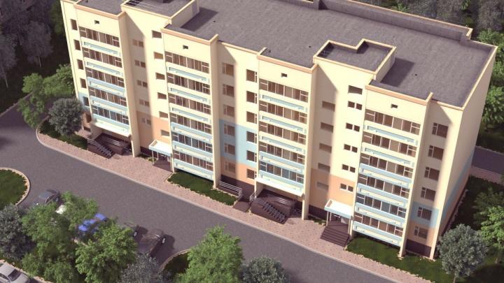 Небольшое число соседей и уютный двор: стартовали продажи квартир в доме от АО «ПЗСП»