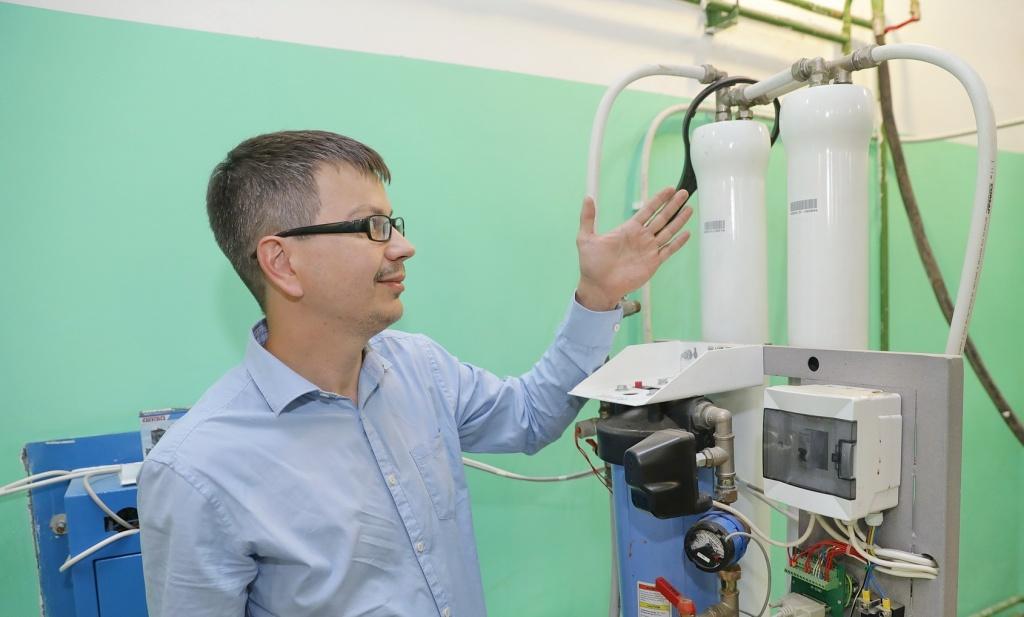 Благодаря уникальной технологии фильтрации вода из «Водоробота» всегда чистая и свежая
