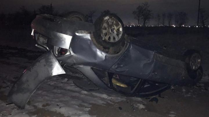 Пьяный за рулем: в ночном ДТП под Сальском пострадали два человека