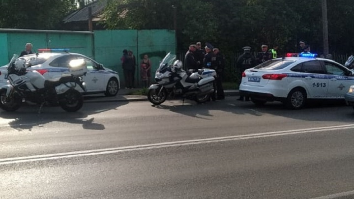 Оказывал сопротивление и, похоже, был под наркотиками: на Московской задержали скутериста-нарушителя