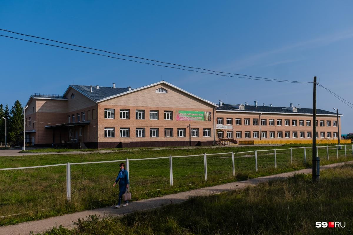 В Большой Коче совсем новая школа