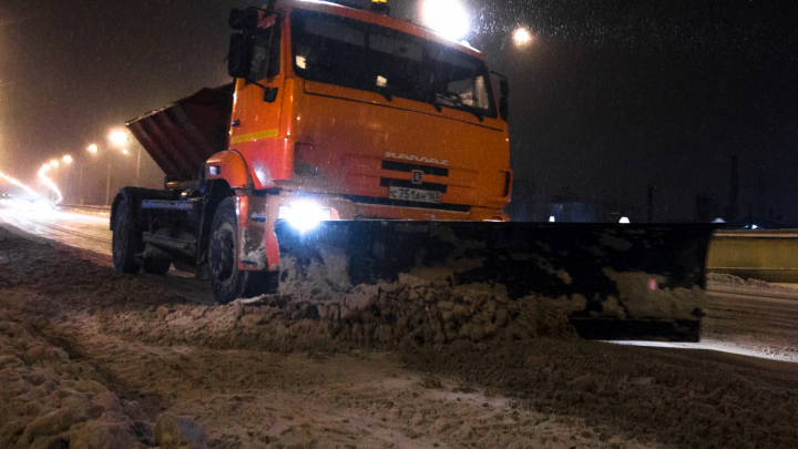 «Убирайте машины!»: ночью в Самаре пройдет масштабная уборка снега