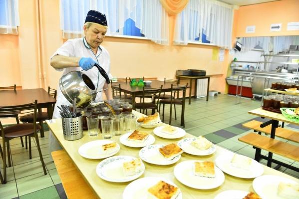В Ярославле придумали проект «Едим в школе». И запустили его