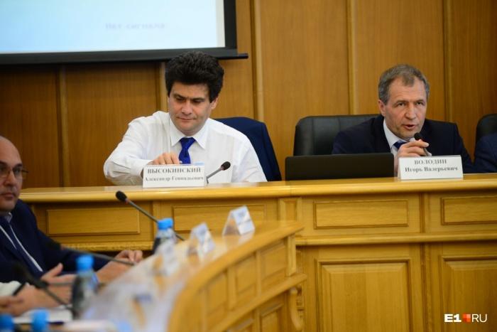 Александр Высокинский считает, что конфликта с депутатами гордумы у него нет
