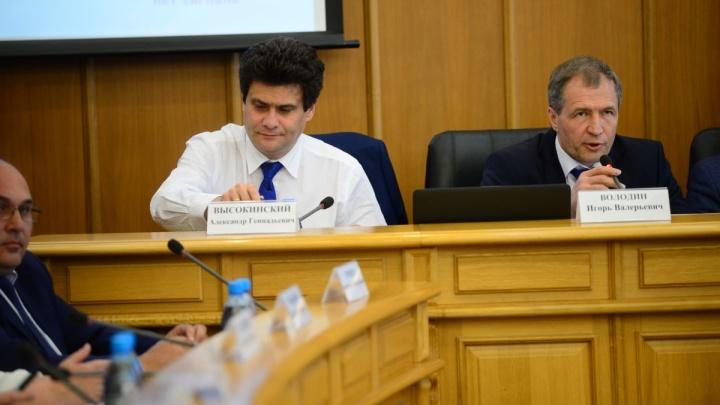 Александр Высокинский рассказал о конфликте с депутатами и своей отставке