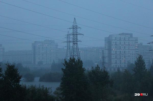 По словам учёного, «темп релаксации радиации» над Северодвинском нормальный