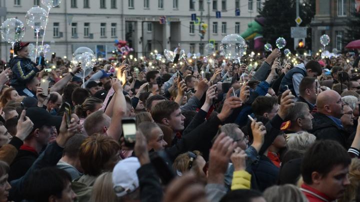 В мэрии рассказали, какая звезда выступитв День города на площади 1905 года