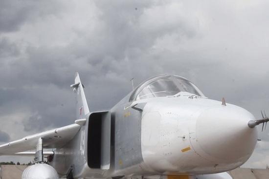 В учениях задействовано десять самолётов