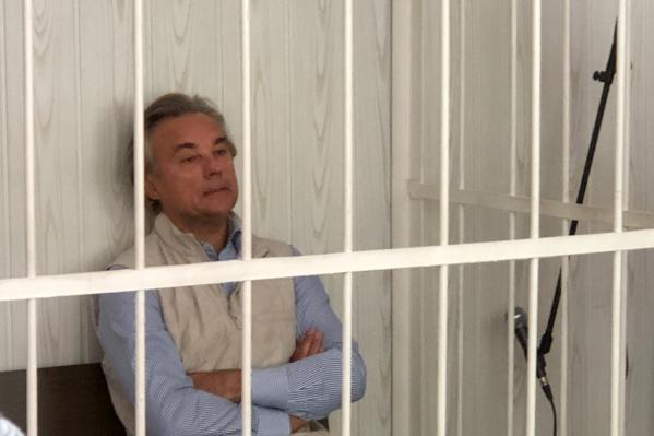 По решению суда Сергея Калинина взяли под стражу до 15 июля
