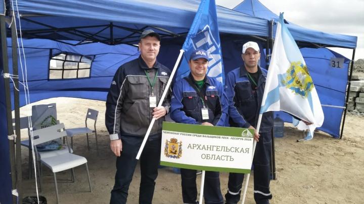 ГК «Титан» взяла серебро в индивидуальном и групповом зачете на чемпионате России «Лесоруб 2018»