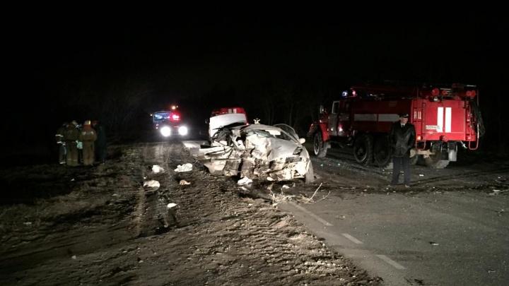 В аварии на Красноярском тракте погибли четыре человека