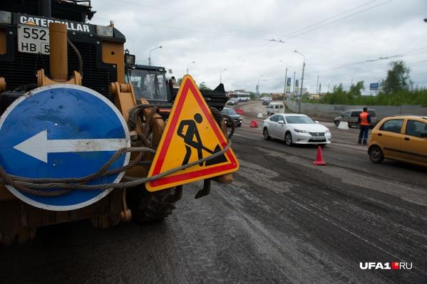 В Уфе ремонтируют одну улицу за другой — без остановки
