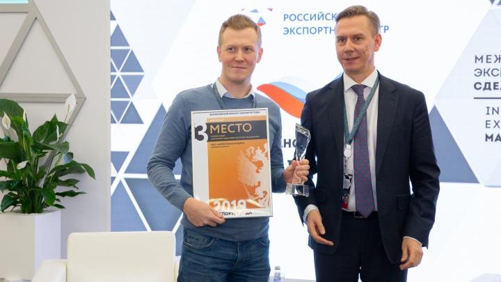 Челябинская компания «Нейротехнолоджи» вошла в тройку победителей премии «Экспортер года — 2019»