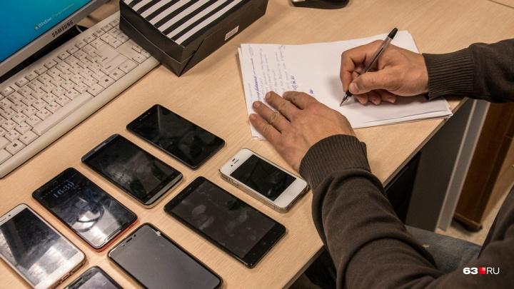 Ответил за беспечность: в Тольятти напали на продавца сотовых телефонов