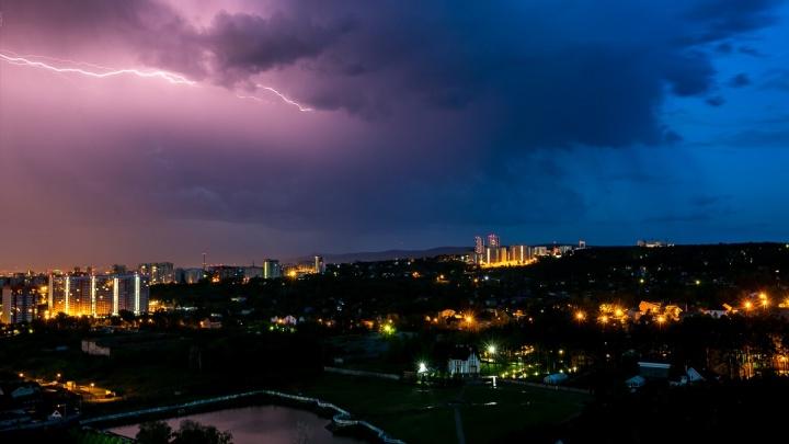 Град, грозы и ветра: штормовое предупреждение перенесли на четверг