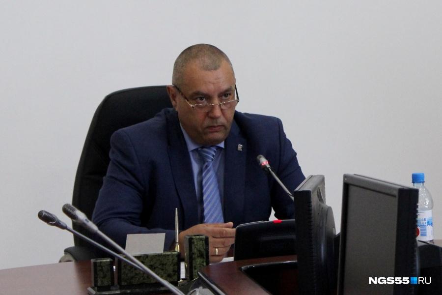 ФРОЛОВ пока нерассматривает себя вкачестве главы города Омска