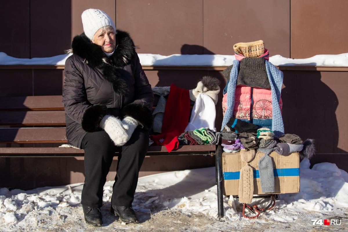76-летняя пенсионерка Любовь Краева старается не унывать и удивляется доброте людей