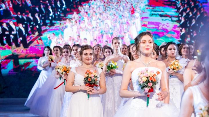 В ритме вальса: как в Ростовской области прошел бал ко Дню студента