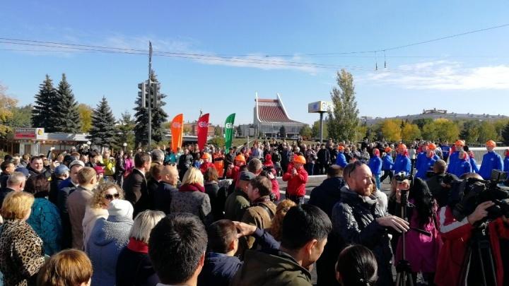 В Омске открыли Юбилейный мост