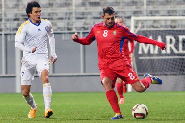 Гацкан провел за Молдавию 56 матчей