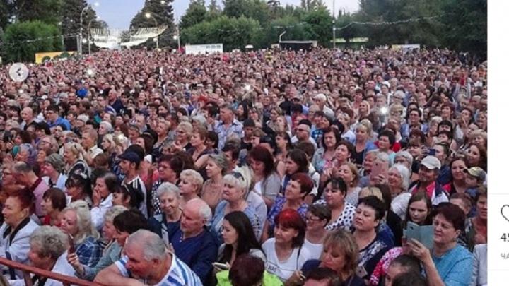 Волжский празднует 65-летие: впечатления от праздника в Instagram