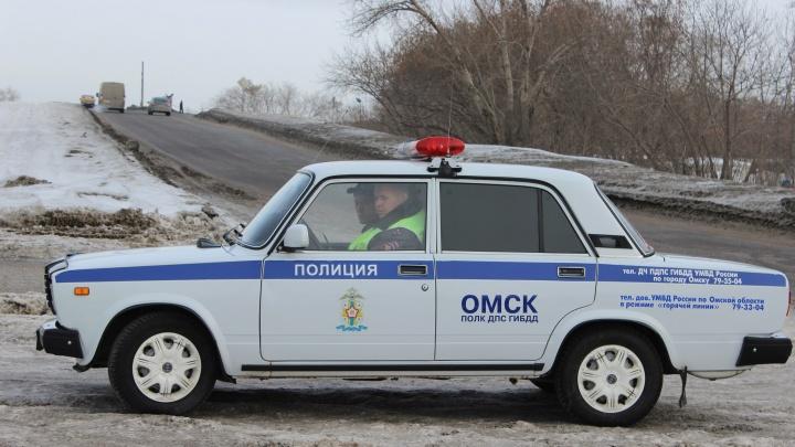 Полицейские помогли замерзшему водителю добраться в посёлок Чкаловский