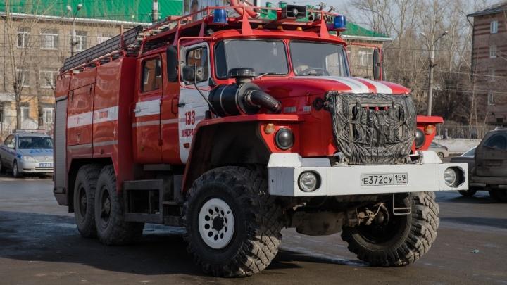 В Полазне из-за пожара в школе искусств эвакуировали детей и учителей