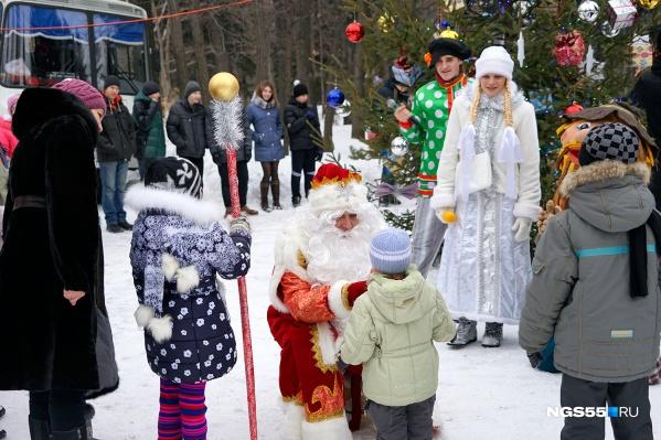 В этом году в Омске пройдет очередной слёт Дедов Морозов