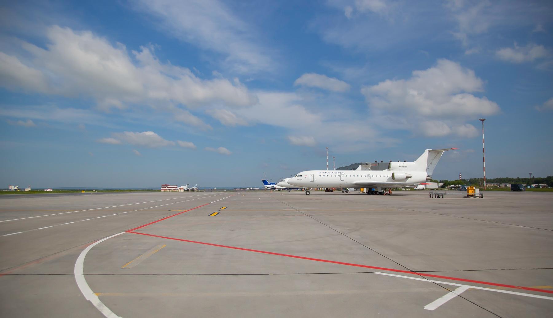 Во время ШОС на этой стоянке размещали самолёты руководителей первого звена: индийский, китайский, из Казахстана и Белоруссии