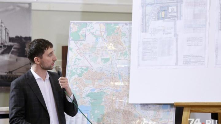 Сквер и многоуровневая парковка: проект высотки на Алом Поле прошёл публичные слушания