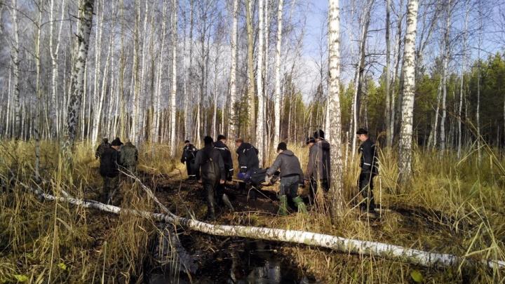 Под Тюменью нашли 58-летнюю женщину, которая трое суток в одиночку плутала в лесу