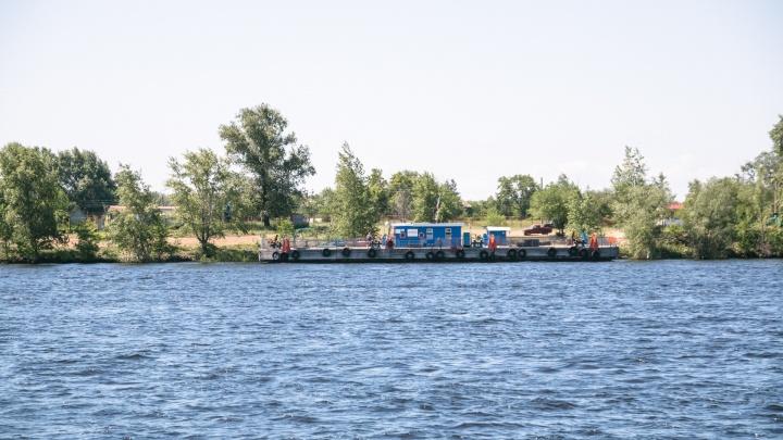 На Девятой просеке начали сносить незаконную лодочную станцию с баней
