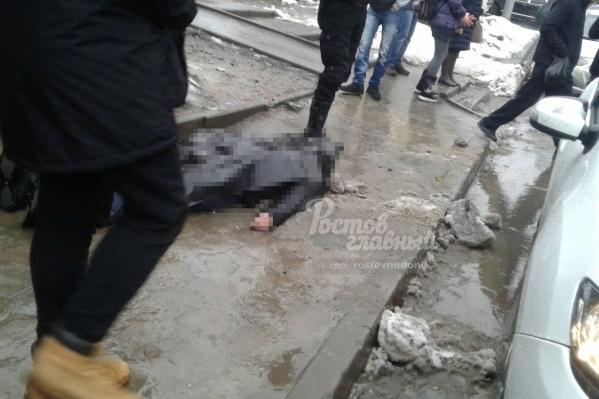 Трагедия случилась напересечении улицы Добровольского и проспекта Королева