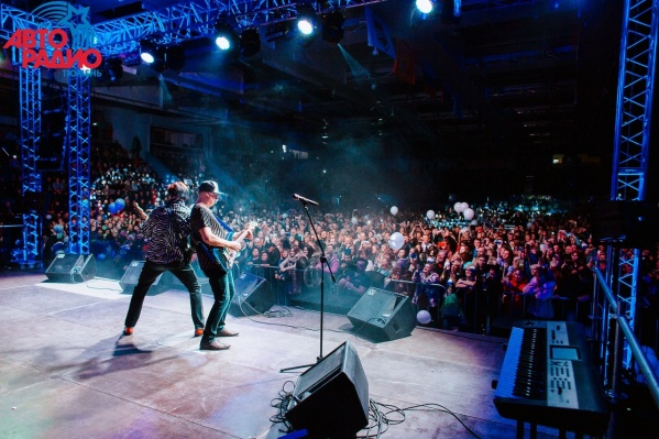Концерт потряс зрителей своим размахом