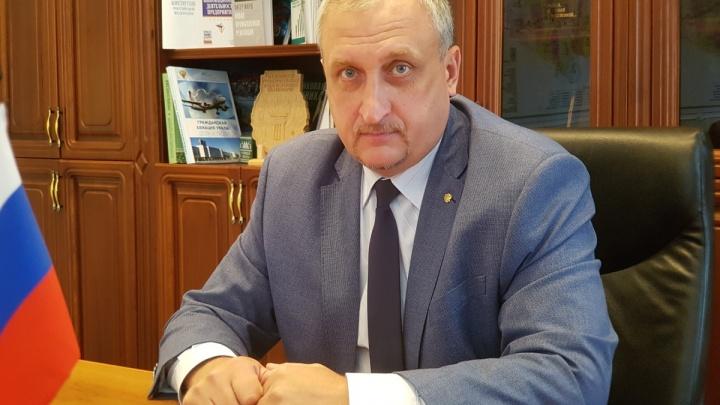Директора департамента промышленности Зауралья Александра Константинова заменит тюменец