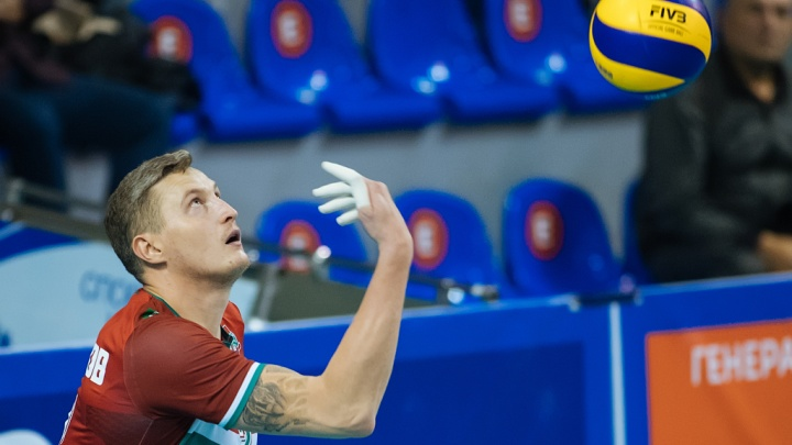 Волейбол: ВК «Локомотив» проиграл команде из Москвы