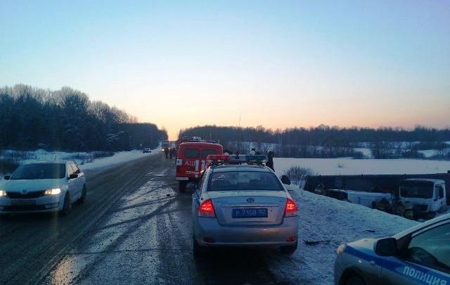 «Заметали следы?»: сразу после аварии с девятью жертвами дорогу на М-5 посыпали солью