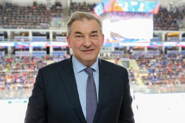 Владислав Третьяк сейчас возглавляет Федерацию хоккея России