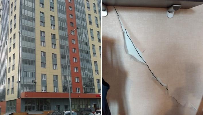 «Потребительский терроризм»: в Перми застройщик прокомментировал жалобы о трещинах в ЖК «Вертикаль»