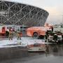 В Волгограде разрезают машину с пострадавшими и спасают застрявших на колесе обозрения пассажиров