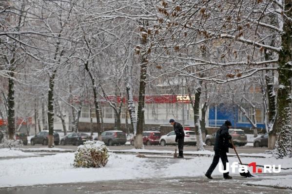 Всю неделю в Башкирии будет идти снег