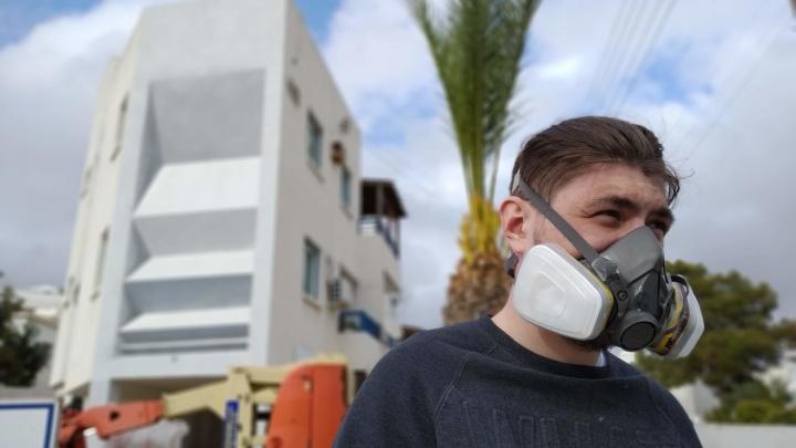 Уличные художники из Екатеринбурга разрисовали дома на Кипре 3D-граффити