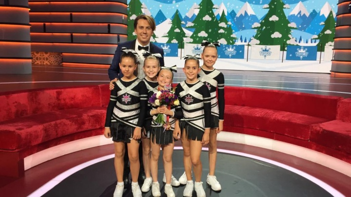 «Если не словили — капец»: школьница из Копейска выступила с командой чирлидеров в шоу «Лучше всех!»