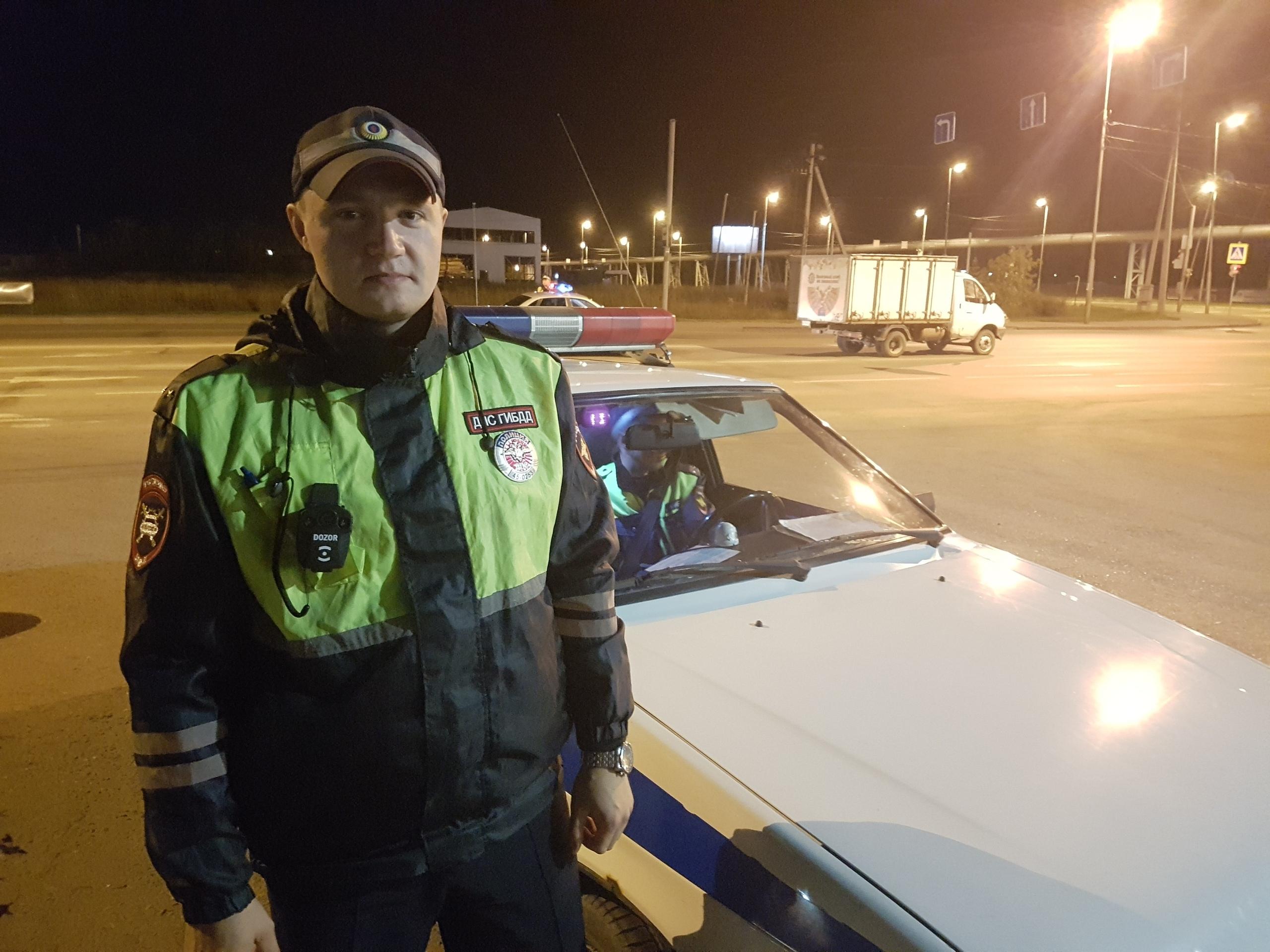 Максим Бондаренко считает, что ночные рейды помогают снизить количество пьяных ДТП